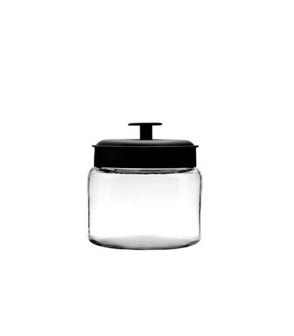 Anchor Hocking Montana Jar with Black Lid 1.5L 16x15cm