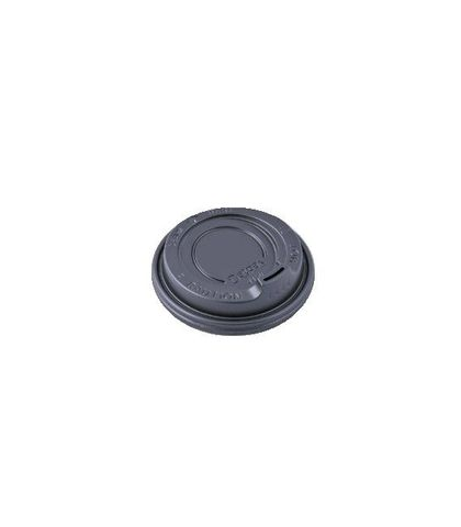 Detpak Hot Cup Lid 12/16/20oz Spout Black