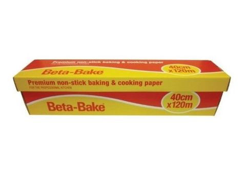Beta Bake Baking Paper 40cm x 120 metres
