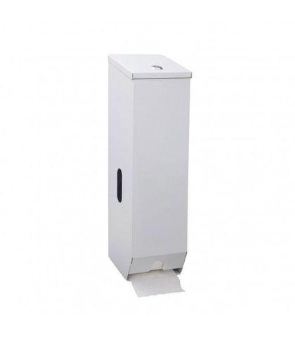 Toilet Roll Dispenser 3 Roll (Metal White)