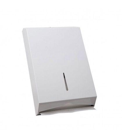 Interleaved Towel Dispenser (Metal White)
