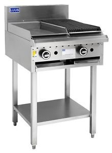 LUUS Essentials 300mm Griddle 300mm Chargrill 43mj NAT/43mj LPG