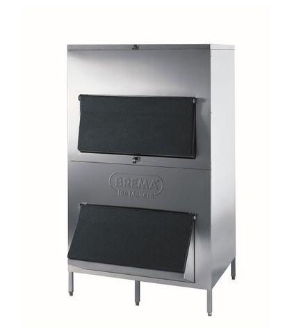 Brema Stainless Steel Storage Bin - 550kg Storage