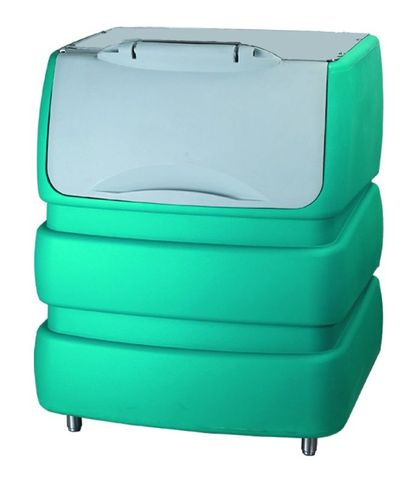 BREMA 240kg storage bin. Requires cover assembly
