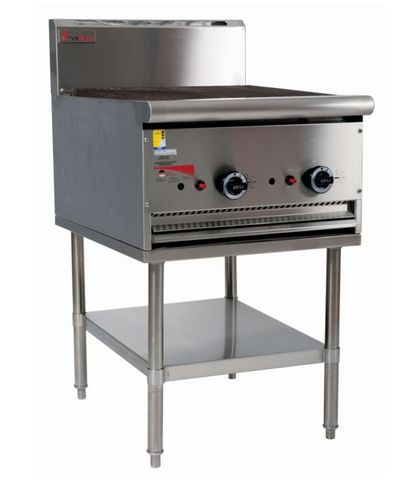 Trueheat - 600mm Char Broiler With Stand - Natural Gas