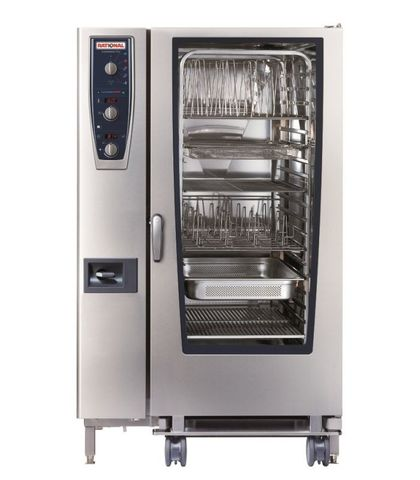 Rational CombiMaster Plus-20-2x1 GN Tray Electric 3NAC 415V 70.7KW
