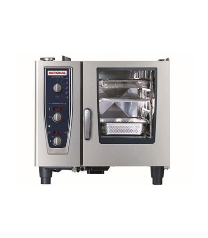 Rational CombiMaster Plus-6-1x1 GN Tray Electric 3NAC 415V 11.2KW