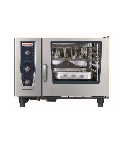 Rational CombiMaster Plus-6-2x1 GN Tray Electric 3NAC 415V 24.2KW