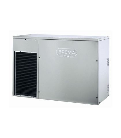 BREMA Modular Cuber Head. No Bin. Up To 300Kg Production. Cone Shape Ice Cube Of 13Gra