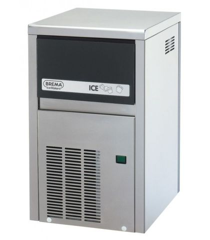 BREMA Ice Maker With Internal Storage Bin. Up To 21Kg Production. Cone Shape Ice Cube