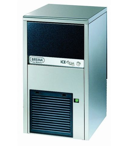 BREMA Ice Maker with internal storage bin up to 28kg production.9kg storge Cone shape ice cube of 13