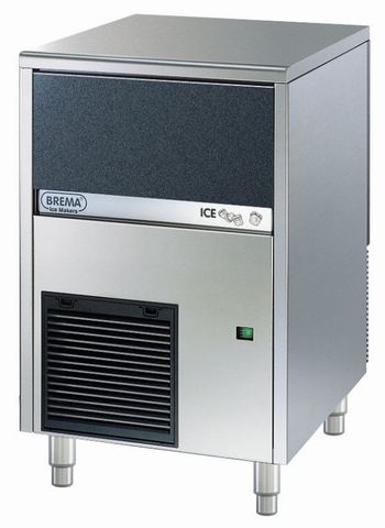 BREMA Ice Maker With Internal Storage Bin. Up To 46Kg Production. Cone Shape Ice Cube