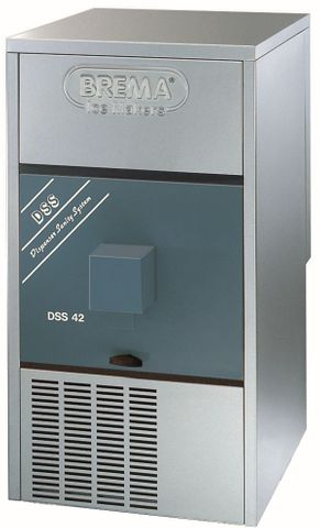 BREMA Ice Maker W Push-Button Dispenser And Bin. Up To 42Kg Production. Cone Shape Ice
