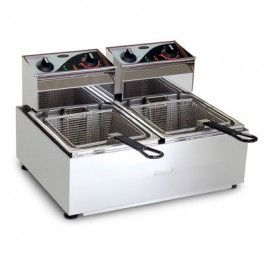 Roband F25 - Double Pan Fryer - 2 X 5L Tanks (2x2400W)