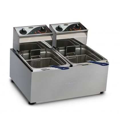 Roband F28 - Double Pan Fryer - 2 X 8L Tanks (2x3450W)