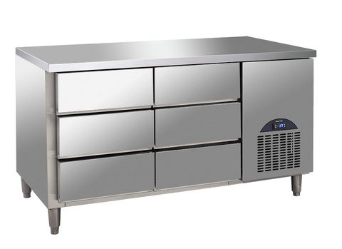6 Drawers Refrigeration Counter