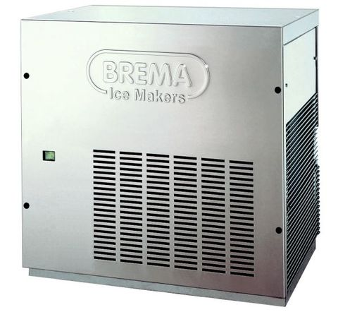 Brema modular flaker with 160kg production per 24 hours. Requires cover assembly