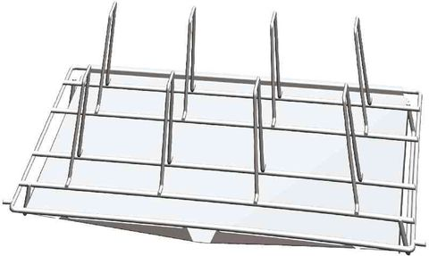 Unox Stainless steel grid to grill 8 chickens 168mm