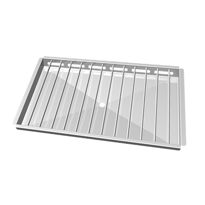 Unox Stainless steel grid to grill 3 open chickens