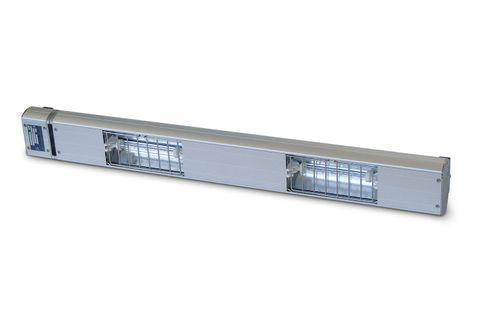 ROBAND Quartz Heat Lamp 4 lamps in 1800 mm body 1400W
