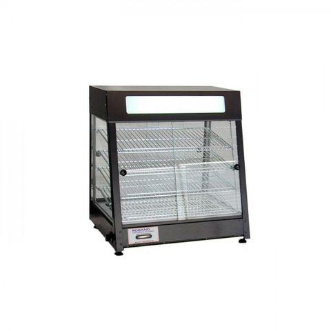 Roband PM60G - Pie Warmer & Merchandiser - 60 Pies Doors on both sides