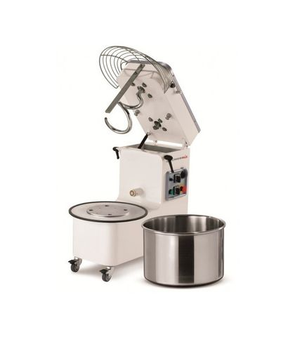 Mecnosud Tilting Head / Removable Bowl Mixer 1.5/2.2kW (Three Phase) - 50Lt