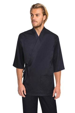 Sushi Chef Jacket Black