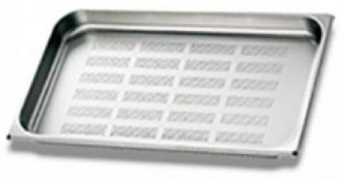 Unox Perforated stainless steel pan 40mm
