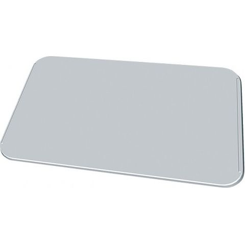 Unox Ribbed flat aluminium plate for pizza and focaccia 12mm