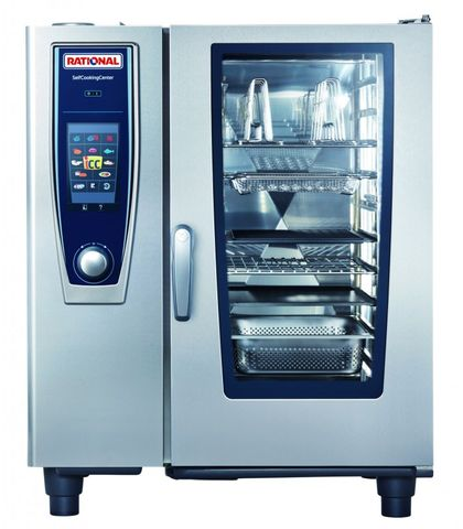 Rational SelfCookingCentre 5 Senses-10-1x1 GN Tray Electric 3NAC 415V 20.2KW