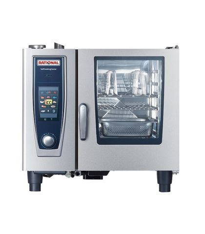 Rational SelfCookingCentre 5 Senses-6-1x1 GN Tray Electric 3NAC 415V 11.2KW