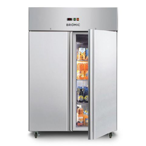 BROMIC Gastronorm Stainless Steel 1300L Upright Storage Chiller