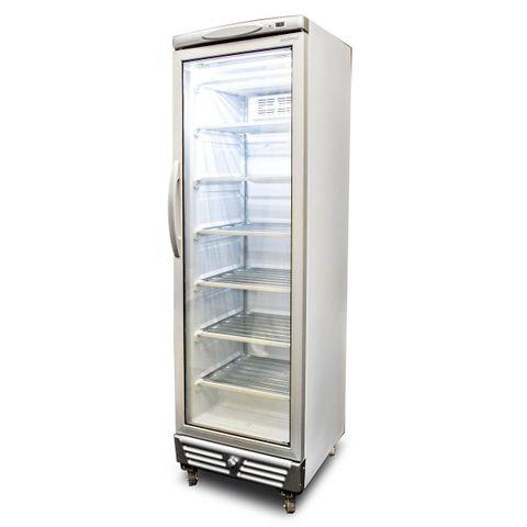 BROMIC LED Flat Glass Door 300L Upright Display Freezer