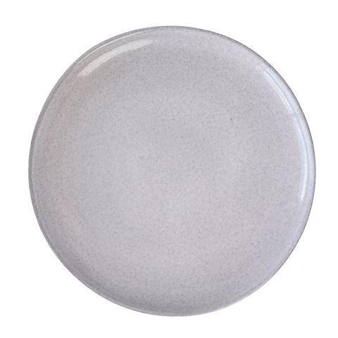 Pedra Medium Plate D21x2cm White