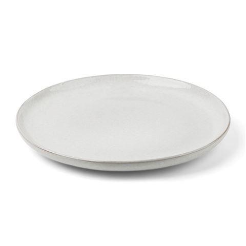 Pedra Large Plate D26x2.5cm White