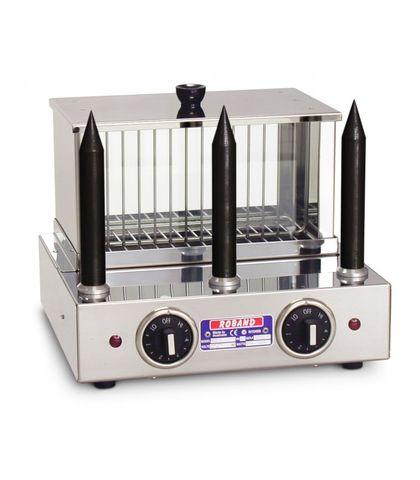 Roband M3T - Hot Dog & Bun Warmer - 3 Teflon® Coated Spikes