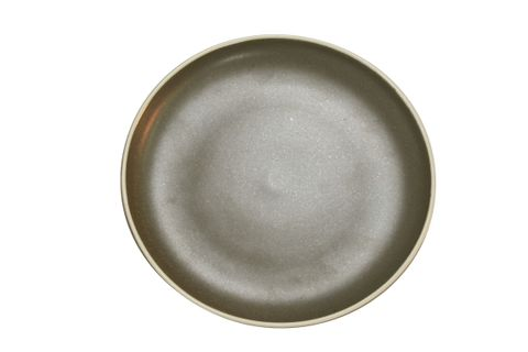 Round Coupe Plate 200mm URBAN Dark Grey