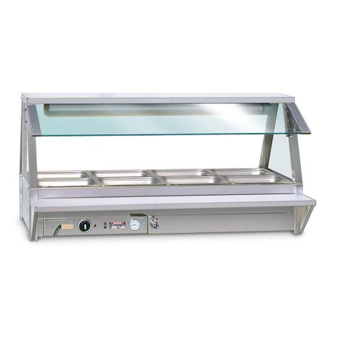 ROBAND Tray Race Stainless Steel 697x207 to suit 2x2 model  Food Bar