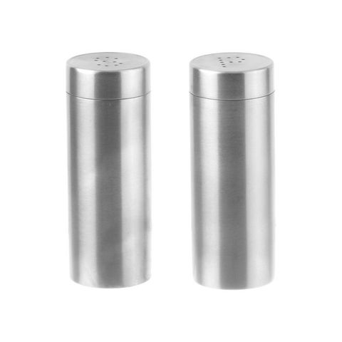 Chef Inox 100mm 18/10 Salt & Pepper Shaker (pair)