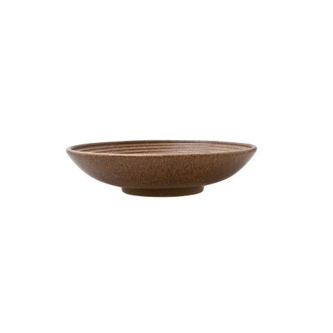 Studio Craft Medium Ridged Bowl 255mm DENBY Chestnut