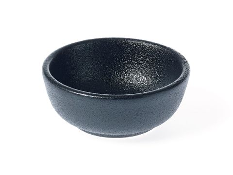 Round Flared Sauce Dish 80x32mm TK BLACK