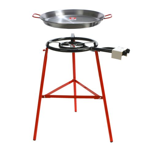 Chef Inox Paella Set Stand 'Tabarca' 500mm Pan/Gas/Burner