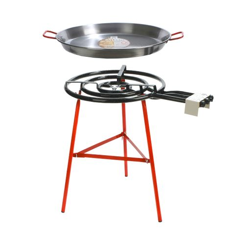Chef Inox Paella Set Stand 'Ibiza' 700mm Pan/Gas/Burner