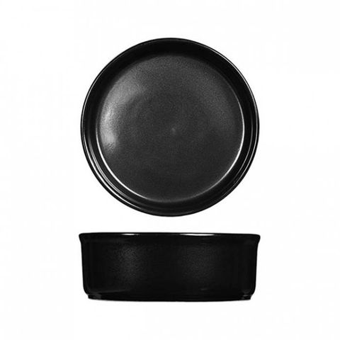 "Tapas/Mezze Dish 140mm/430ml ""RUSTICS BLACK"" ART de CUISINE"