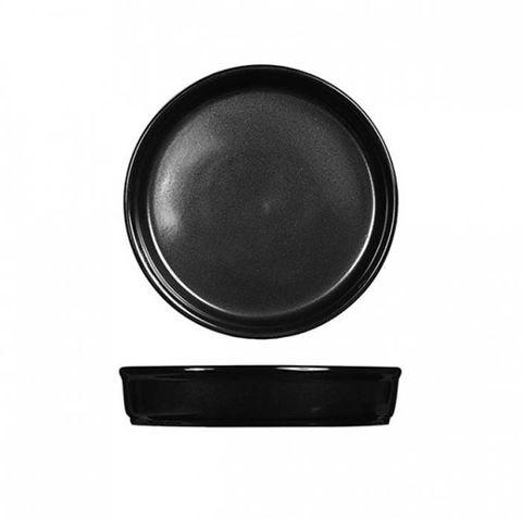 "Tapas/Mezze Dish 170mm/400ml ""RUSTICS BLACK"" ART de CUISINE"