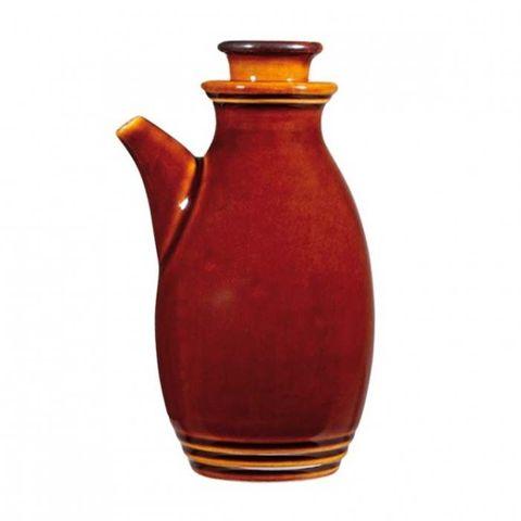 "Oil/Vinegar Bottle284ml ""RUSTICS BROWN"" ART de CUISINE"