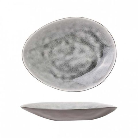 "DIS Oval Dish 150x119mm ""Grey Mizuki"" MODA"