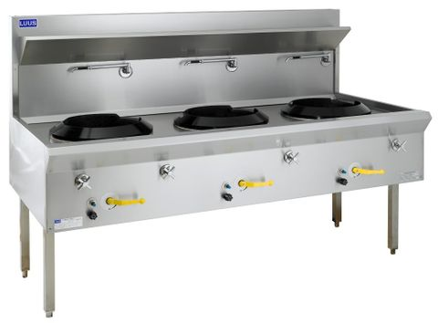 LUUS ASIAN RANGE WF 1800MM TRADITIONAL WOKS 3 Hole 330mj NAT/360mj LPG