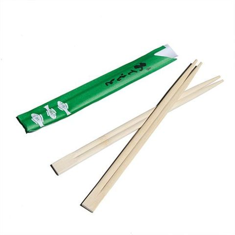 Wooden Chopstick with paper cover
