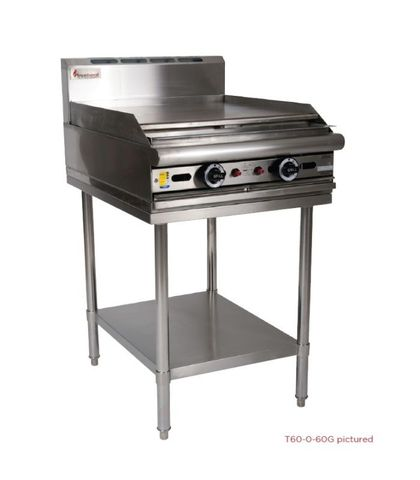 Trueheat - 2 Open Burners And 300mm Griddle - Natural Gas (600mm Wide)